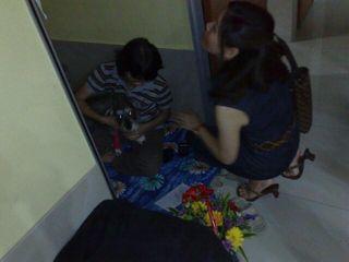Angel visiting Mumu