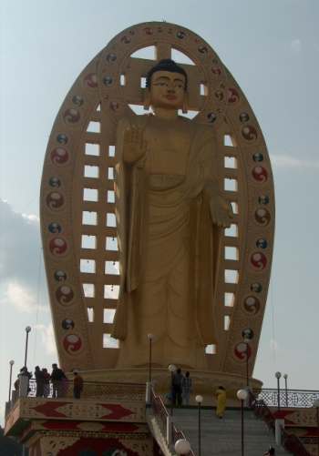 38 Mindroling Monastery Buddha Dehradun