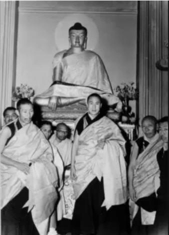 Trijang and Dalai lama