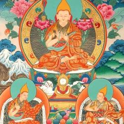 Lord Tsongkhapa, King of the Dharma