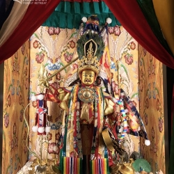 Unique Dorje Shugden Oracle Statue in Kechara Forest Retreat