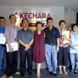 Kechara New Gompa Keys Received!!!!!