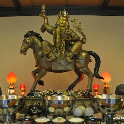 5-Foot Gyenze Statue Arrives in Kechara Forest Retreat