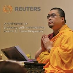 བོད་མིའི་རང་ལུས་མེར་སྲེག་སྐོར་བདག་གི་བསམ་ཚུལ་རི་ཡུ་ཊར་ (Reuters) རླུང་འཕྲིན་ཚགས་ཤོག་གིས་པར་འགྲེམས་བྱས།།