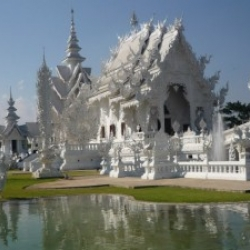 Incredible White Temple in Thailand