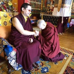 Jetsunma Tenzin Palmo Is Humble in Front of Her Guru's Incarnation