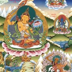 The Bodhisattva of Wisdom – Lord Manjushri