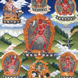 The Powerful Red Lady Vajrayogini