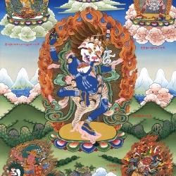 The Great Ferocious Dakini – Sengdongma