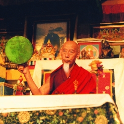 Kyabje Zong Rinpoche explains on many rare and precious teachings with translation