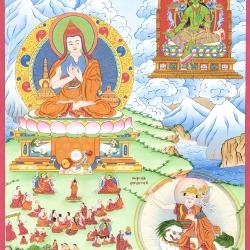 The Saintly Atisha Dipamkara Srijnana