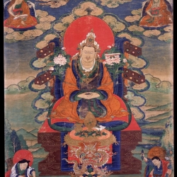 Trisong Detsen, the Great Dharma King of Tibet