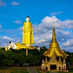Maha Bodhi Ta Htaung, the Thousands Bodhi Tree Monastery – Myanmar
