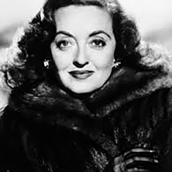 I spoke to Ms. Bette Davis