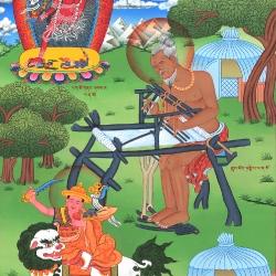 Mahasiddha Tantipa – The Senile Weaver