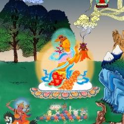 டோர்ஜே ஷுக்டேனுக்கு ஊதுபத்தி காணிக்கை