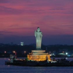 Buddha Statue of Hyderabad!!
