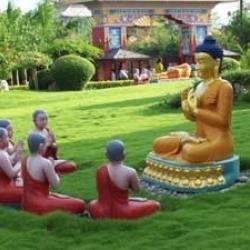 The birth palace of Gautam Buddha