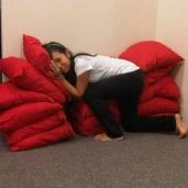 Cynthia Sponsors Cushions for E-Division!