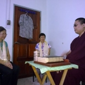 Blessing Su Ming's grandmother