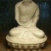 KSA's Beautiful Clay Amitabha by Lili Ng