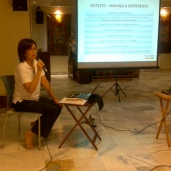 May Woo's talk at Manjushri Class