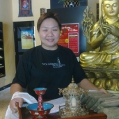 Rinpoche's gifts to Jess in Penang