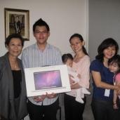 KH President Datuk May Phng Gifts Nicholas a Mac!