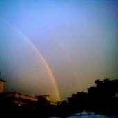 Double Rainbow at Kechara Wesak Day Fair
