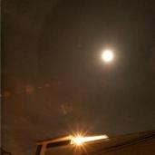 Rainbow Around the Moon tonight