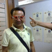 Rajkumar and cool shades!!!