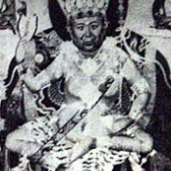 Kyabje Pabongka Rinpoche in Tantric Dress