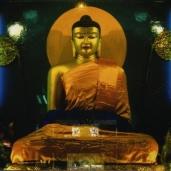 Buddha at Mahabodhi Temple, Bodhgaya