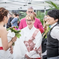Buddhist weddings at World Pride Toronto 2014