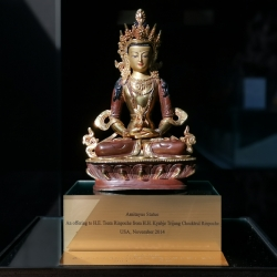 Visiting His Holiness Trijang Chocktrul Rinpoche in Vermont | 到佛蒙特州拜会至尊赤江卓图仁波切