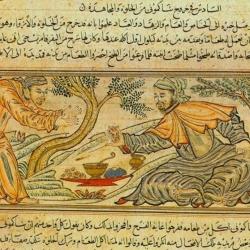 Babylonian King and Buddha