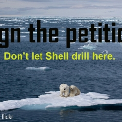 Shell Oil Drilling in Arctic Ocean