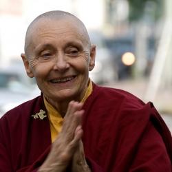 """""""I Don't Eat My Friends"""" –  by Tenzin Palmo"""