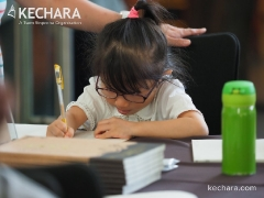 Glimpses of Wesak Day celebration at Kechara Forest Retreat - Sutra Copying