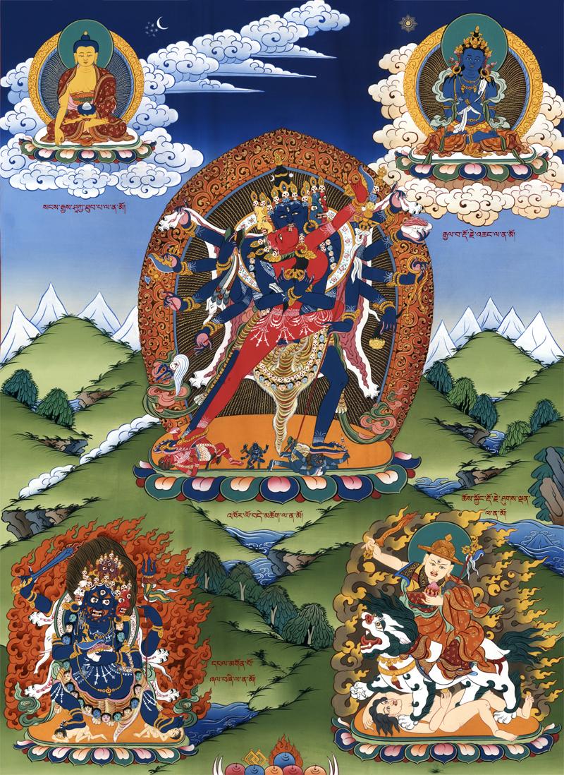 Heruka Chakrasamvara in the Kagyu Tradition | Tsem Rinpoche
