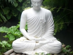 Buddha Amitabha. I like the green surroundings very much
