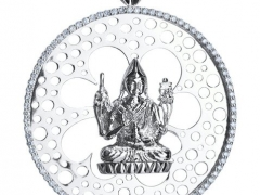 Another beautiful pendant of Tsongkapa produced from Kechara. It's sacred and beautiful