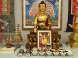 For Buddhists, the altar forms the focal point of their practice and whether large or small, it is one of the first things a practitioner sets up when they become committed to deeper spiritual practice. www.tsemrinpoche.com www.dorjeshugden.org
