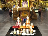 Gyenze Puja at Wisdom Hall. -Chris