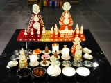 Gyenze Puja offering and torma set up. -Chris