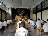 Recently a group of 26 students of H.E. the 25th Tsem Rinpoche engaged in a Lama Tsongkhapa Retreat in Wisdom Hall, Kechara Forest Retreat - shared by P. Antoinette