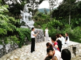 A debrief after the first walking meditation session at Tara Walk. - shared by Pastor Antoinette