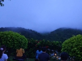 Sunrise meditation in Kechara Forest Retreat! Enjoy nature in Malaysia!