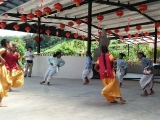 Traditional Indian Dance in Kechara Forest Retreat today! Join us tomorrow Saturday, starting with Lion Dance at 10am.