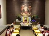 Gyenze Puja in Kechara Forest Retreat, Wisdom Hall